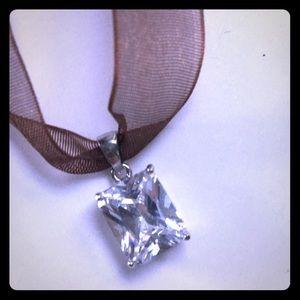 Cubic Zirconium Necklace